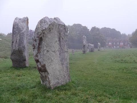The Stone Circles Of Avebury, England (subtitled)
