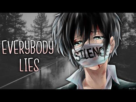 ◤Nightcore◢ ↬ everybody lies [lyrics]