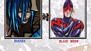 MUGEN: Basara(Me) vs Black Widow(AI)