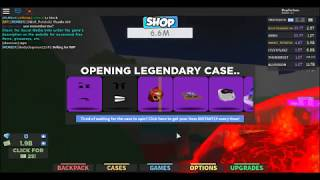 Roblox Dominus Areus Giveaway On Case Clicker!