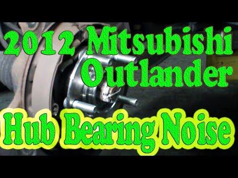 2012 Mitsubishi Outlander Hub Bearings
