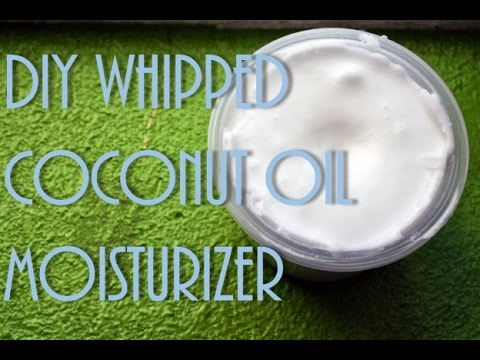 How To | Easy Simple DIY Whipped Coconut Oil Moisturizer