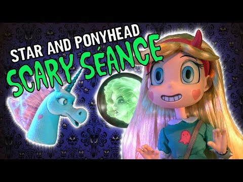 Ponyhead and Star meet Leota | Haunted Mansion | Disney XD