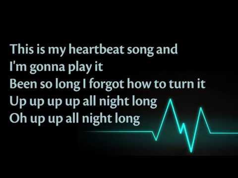 Lyrics Heartbeat Song   Kelly Clarkson