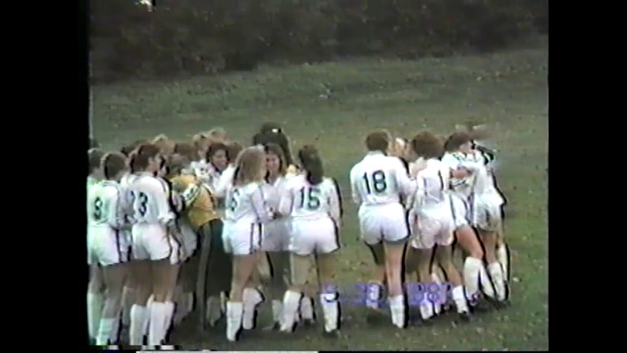 CCRS Girls Soccer Highlights - 1987