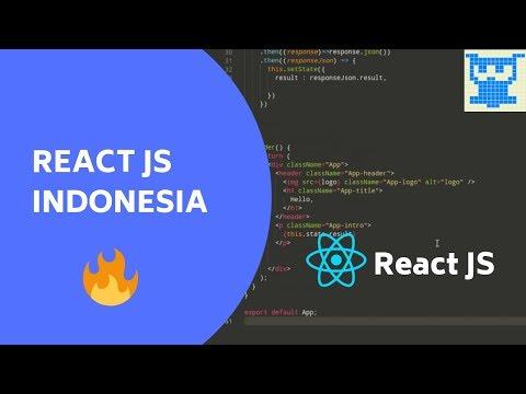 REACT JS Tutorial [BAHASA Indonesia] #4 thumbnail