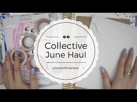 Collective June Haul ♡ SimplyGilded, CreatewithPen, CoffeeMonsterz, PumpkinPaper, SJH