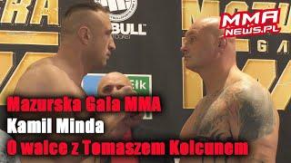 """Kamil Minda przed walką z Kolcunem: """"Komuś spadnie głowa!"""""""