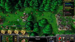 Warcraft 3 Farmer vs Hunter
