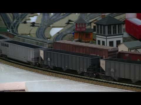HO Scale Coal Train For Sale – Delano Mountain Custom Models