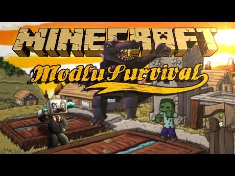 ENESLE CENNET'E GİTTİK - Modlu Survival -Minecraft  A Ghost's Journey Bölüm 5