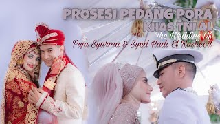 PROSESI UPACARA PEDANG PORA KHAS TNI AL - PUJA SYARMA & SYED HADI EL RASHEED