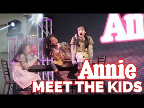 Meet the adorable kids of Annie The Musical!