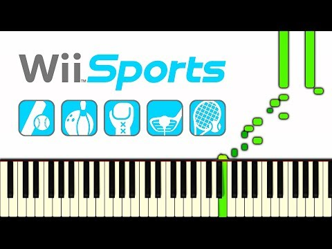 WII SPORTS THEME - Piano Tutorial