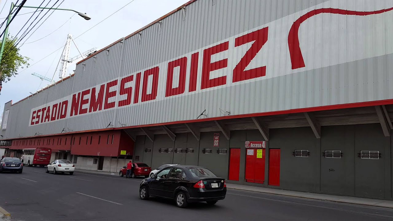 Estadio nemesio diez de toluca en remodelaci n youtube for En remodelacion
