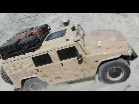 Industrie Russland / GAZ Tigr (Civil)