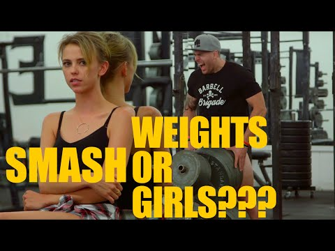 Smashing weight all night with Riley Voelkel!!