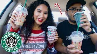 WE TASTED STARBUCKS HOLIDAY DRINKS 2019!