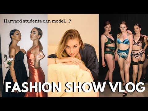 I modeled in a FASHION SHOW | Harvard Identities Fashion Show 2019