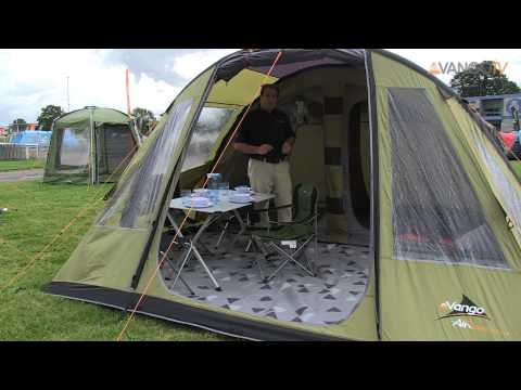 Vango Family Kinetic Airbeam 174 Tent Filmed 2013 Yourepeat