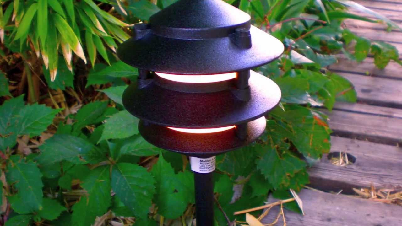 total lighting supply malibu led pagoda fixture youtube