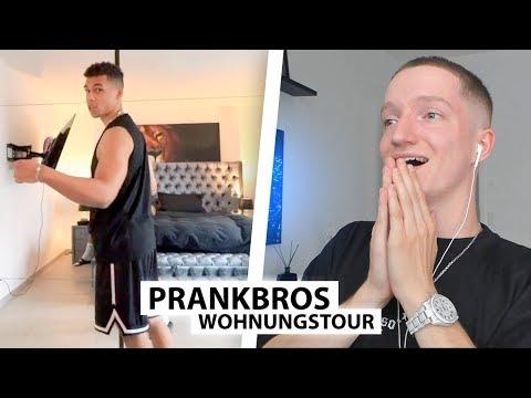 Justin reagiert auf neue Wohnung der PrankBros.. | Reaktion