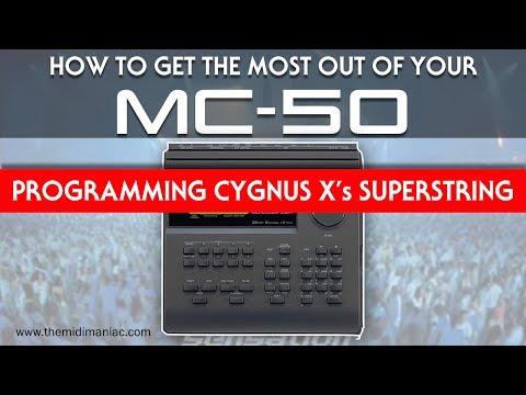 Roland MC-50 - Programming  Cygnus x's Superstring
