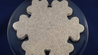 Candy Melts Demo #7: Cookies And Cream Snowflake