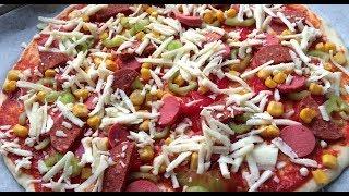PIZZA YAPAMAYAN KALMASIN!! || EV YAPIMI MIS GIBI BOL MALZEMELI PIZZA