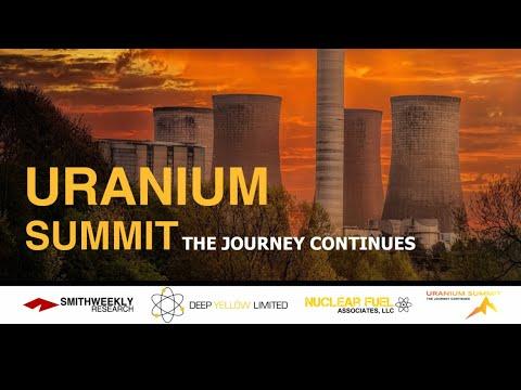 Uranium Summit: The Journey Continues  |  John Borshoff & Dustin Garrow
