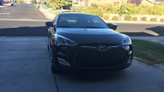 Hyundai Veloster Review Fully Equipped
