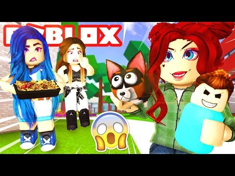 Roblox Family - OUR NEW NEIGHBORS HAUNTED HOUSE!? (Roblox Roleplay)