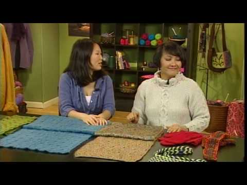 Reversible Cables With Lily Chin Knitting Daily Tv Episode 402