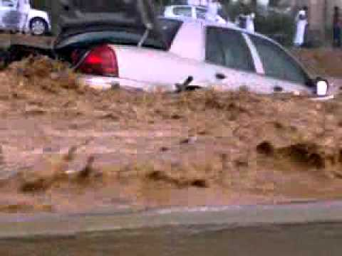 flood in jeddah Two people electrocuted as roads in parts of rain-hit saudi arabia become flooded.
