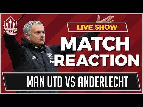 Marcus RASHFORD GOAL Wins it! MANCHESTER UNITED 2 ANDERLECHT 1 AET