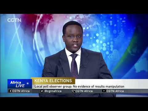 Kenya local poll observer group: No evidence of results manipulation