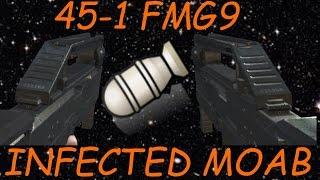 MW3: 45-1 FMG9 Infected MOAB on Bootleg! | Real-Life Slenderman!