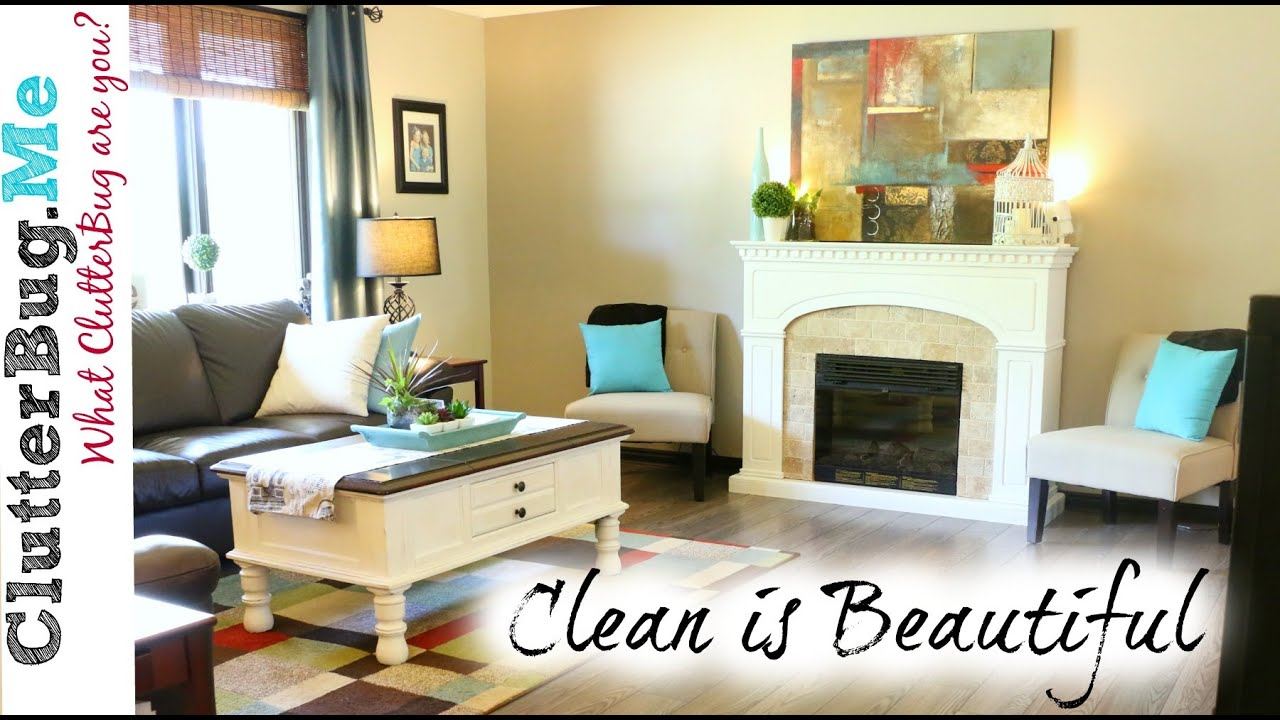 Clean Home a clean home is beautiful - organizing tip of the day - youtube