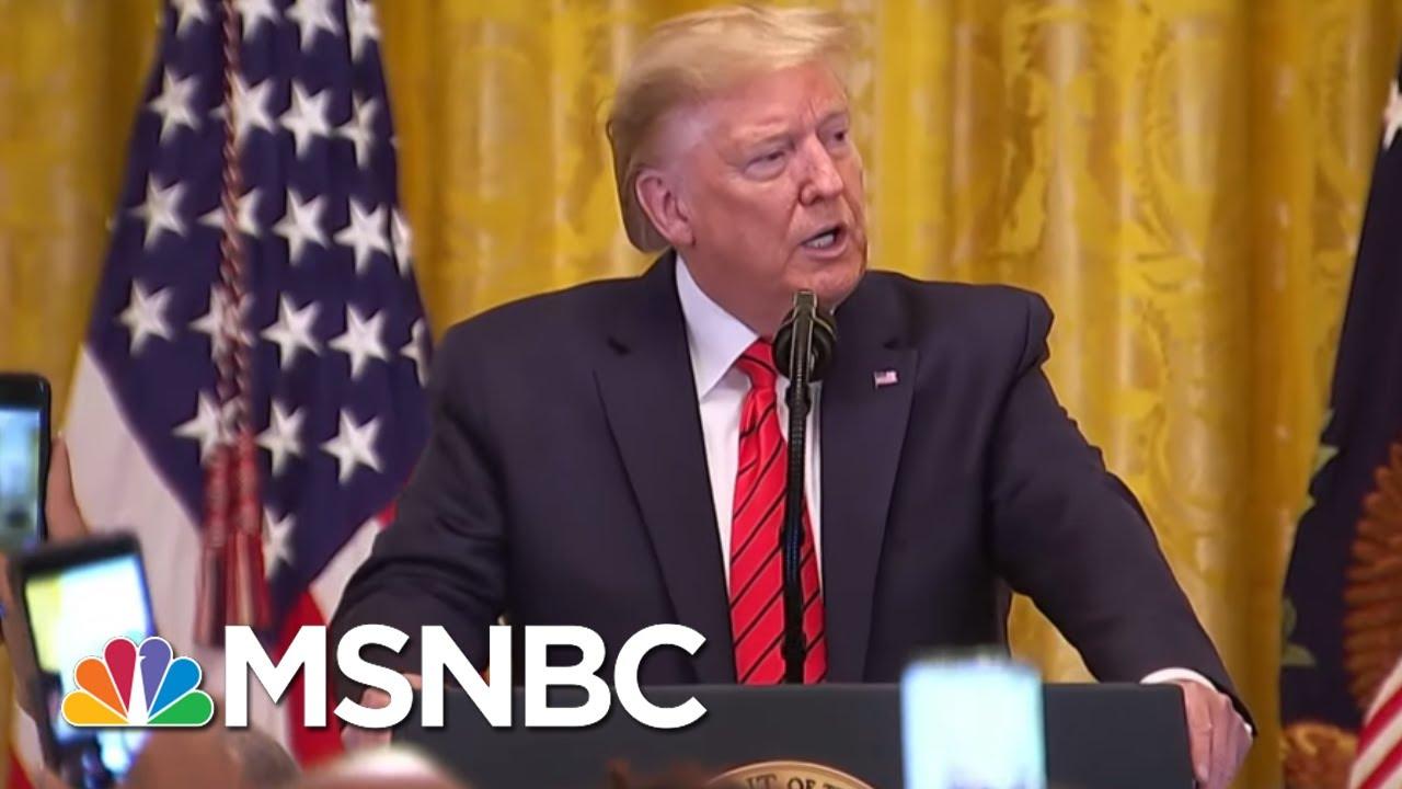 Rpts: Trump Team's Coronavirus Response Mired By Protocol Breakdown | The 11th Hour | MSNBC