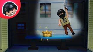 Einbruch im Museum! Karlchen klaut die Juwelen! Playmobil Polizei Film - KARLCHEN KNACK #131