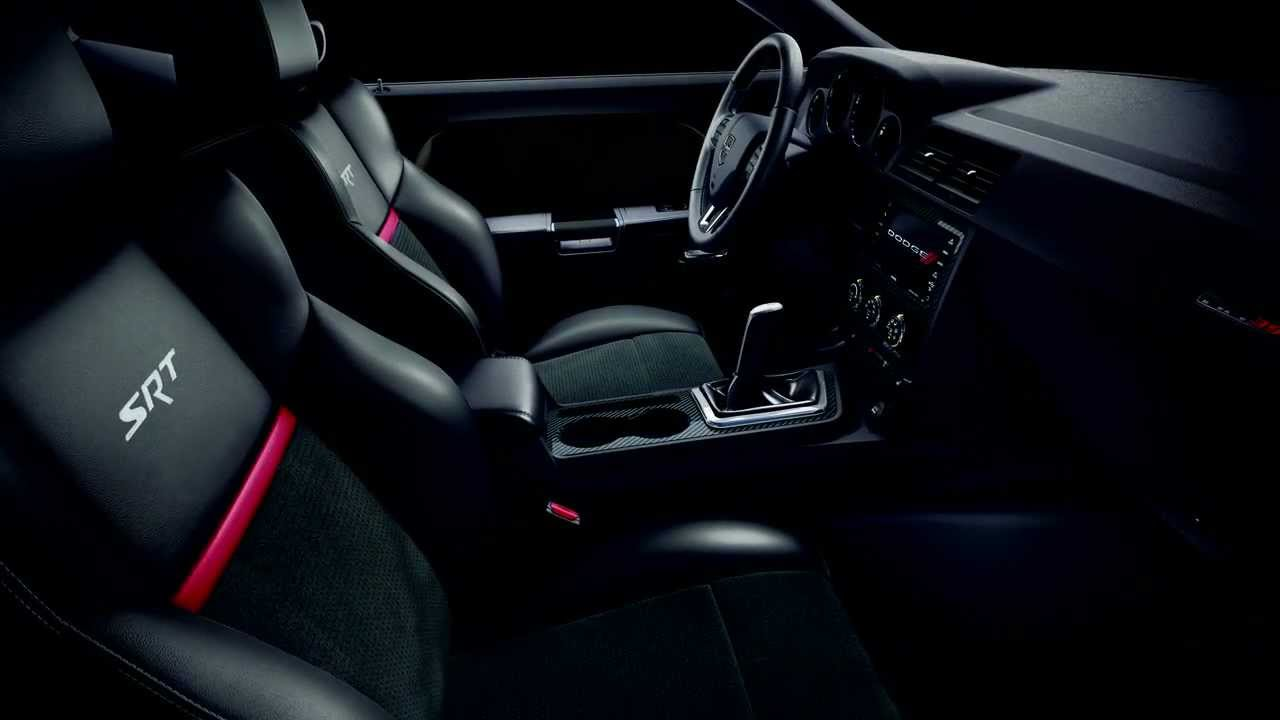 Srt Hallmarks Challenger Srt8 Interior Design Youtube