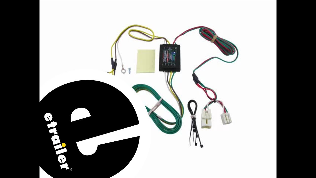 hight resolution of trailer wiring harness installation 2013 hyundai elantra etrailer com