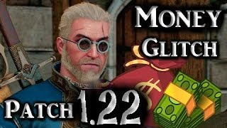 The Witcher 3 Patch 1.30 Infinite fast Money Items Glitch