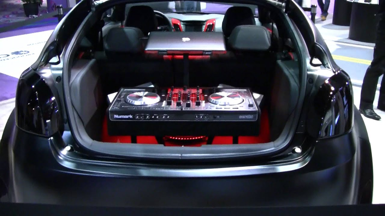 Hyundai Veloster Blacked Out With Numark Dj Audio