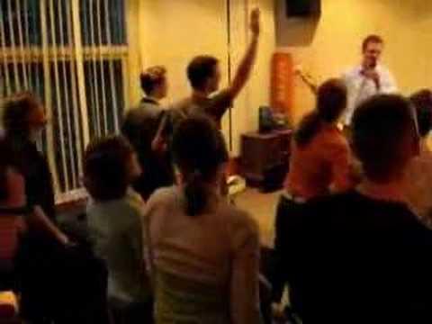 Karaoke bij c.s.v. Ichthus Maastricht