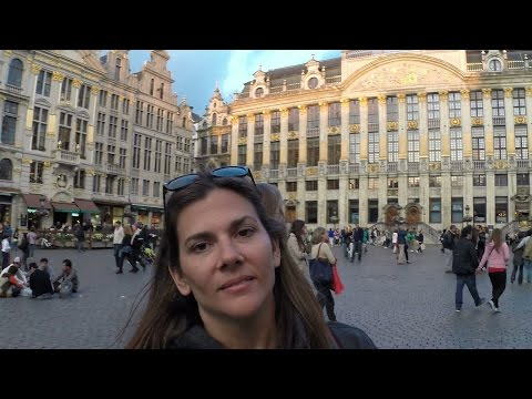 Travel abroad and tour Brussels Belgium with youtubers as your guide