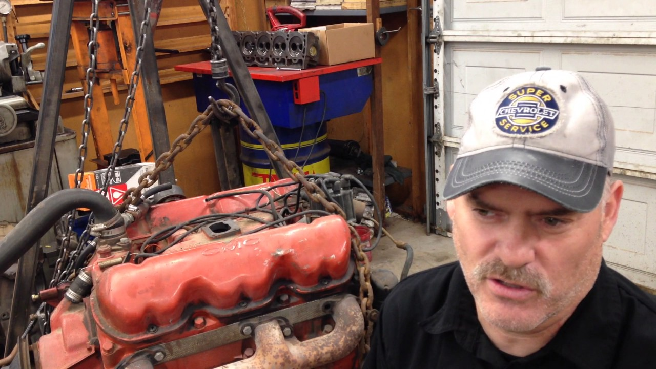 medium resolution of 305 gmc v6 rebuild part 1