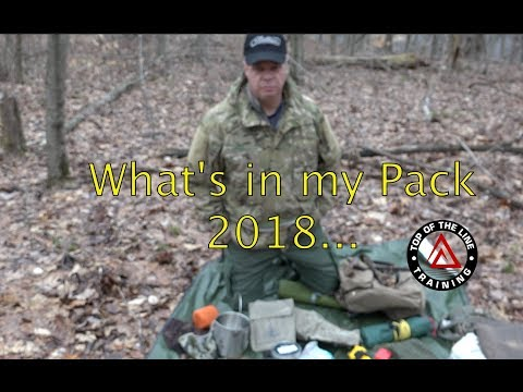 What's in my Pack 2018 Frost River Summit 190