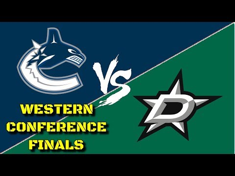 Western Conference Finals vs. Dallas Stars - NHL 18 - Vancouver Canucks Franchise Mode Ep. 24
