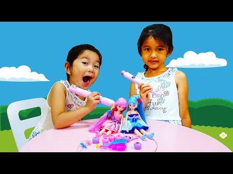 ●普段遊び●キラチェンリカちゃんでダンス大会♡まーちゃん【6歳】おーちゃん【3歳】#537